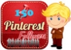 add, deliver real active 100++ pinterest followers...!!!!!