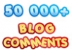 build MASSIVE 50 000 blog comments with full report and pinging ...!!!!!