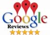 provide you 4 US based real and organic google reviews only for