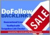 create 750 dofollow backlinks