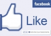 Give you 5,000+ Facebook Likes to your WebPage Like Button