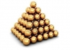 build a over 500+ high pr backlinks pyramid..