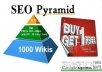 build a HiGH AuTHORITY Link Pyramid with 1170+ Top Quality SEO Friendly Backlinks, Edu Gov included, Get First Page Google Rankings ..