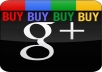 give you 22 Google+1 vote for your site, blog, youtube only 