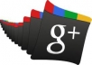 give 110+ g+ vote with usa mobile verified g+ account  in your site or google page