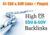 make 100 PR1 to PR8 Contextual Backlinks + 10000 Blog Comments + Report!!