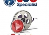 manually upload your video to TOP 30+ video sharing sites!!
