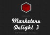 give you my marketers delight 3 and thesis 2