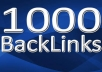build 1000 GUARANTEED Verified Backlinks To Your Site + Extra Bonus...@