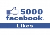 add 6000+ Real looking Facebook likes to your fan page with out admin access