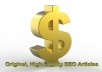 write 400 to 500 words Original and High Quality Search Engines Optimized SEO article on any Computer Technology related topic, no Spinning 