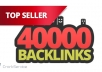 make 40,000 blog comment backlinks....@@