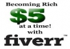 Advertise and sell your Gig on Fiverr