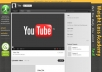 make a personalised YOUTUBE background for your business plus free Twitter Cover ..@