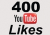 I will give you 400+ YouTube Likes in 24 HRS 