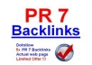 provide 25 PR 7, PR6 Backlinks on Authority Sites PageRank 6, 7 Seo Links from Famous Brands