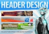 design an ultra professional header..@