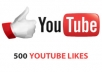give you 500+ YouTube Likes in 24 HRS or longer