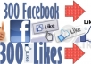 amazingly provide 300+ to 1700+ Facebook Likes to your Facebook Pages or Landing Pages, FB Like / fans on Fan Page, Speedy Fb Service!!