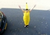 shout anything you want in a banana costume...!!
