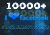 Give you 10000+ facebook like at cheap rate