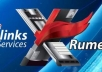 create 22 500 xrumer backlinks to your website using XRUMER !!
