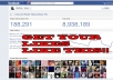 Give you 1,300+ Real USA Facebook Likes or Fans