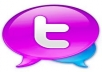 Give you 550+ Twitter Followers,100% real & active user, only