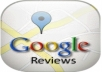 provide you 2 real USA google reviews for your business and product on your google page