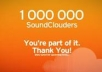 add 100k plays + 20k downloads to your soundcloud track within 24 hours