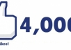 give you 4500 facebook likes to any website webpage blog