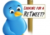 give You High Quality 1000+ Real Retweets From Uk Usa Profiles Without Any Admin Access