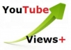 send 4100 guaranteed YOUTUBE views [with Gig Extras I will add until 50000 youtube views ..@