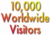 Give★KILLER SUCCESS★★10,000 unique REAL Hits TRAFFIC★★ Visitors to your Web Site only