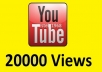 will give you 20000 youtube views, 30+ likes, 50+subscribers .