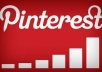 Get you 510+ Pinterest Followers,500+ Repins on your Account,500+ Likes, WITHOUT Any ADMIN ACCESS Just