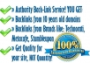 Make15 PR7 PR8 Backlinks on Authority Sites Page Rank 7, 8 Links from Famous Brands