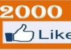 give you 2000+ facebook likes to any of your fanpage in 24hours