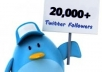 add 20,000+ Followers By Your Profile Link To Larger Your Twitters Follower In 12 Hours Without Your Account Credentials