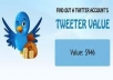 GIVE YOU 210+ REAL AND SAFE TWITTER FOLLOWERS FOR YOUR TWITTER ACCOUNT NO USE SOFTWARE  100% MANUALLY DONE