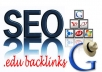 create 15 dofollow profile backlinks from edu and gov domains then I will try to get them indexed in google!!!!