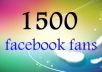 get 1500+ USA Likes/Subscribers To Your Facebook Fanpage/Profile and I will Advertise your Link to 190,000+ Twitter Followers!!!