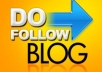 ADD manual blogroll permanent PR9 low alexa dofollow link