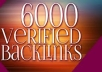 create 6000 VERIFIED backlinks using Xrumer !!!!