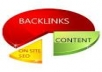 create 800 social bookmark SEO backlinks + ping in 24 hours.......