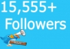really provide you 15,555+ real Twitter Followers no eggs , in less than 24 hours without your password [ Split Available ]