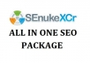 use SEnuke XCr to create High Quality Google Friendly Backlinks on 48 hours delivery High Page Rank Authority sites..