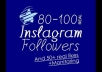 safely get you 80 to 100 REAL, non bot, human active Instagram followers; 50+ authentic likes, and will then monitor for stability..@