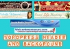 make a personal header or background for your Wordpress blog..@