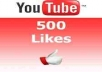 provide 100% real 500 youtube video likes